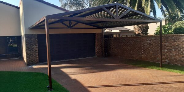 Carport A-Frame Pitched