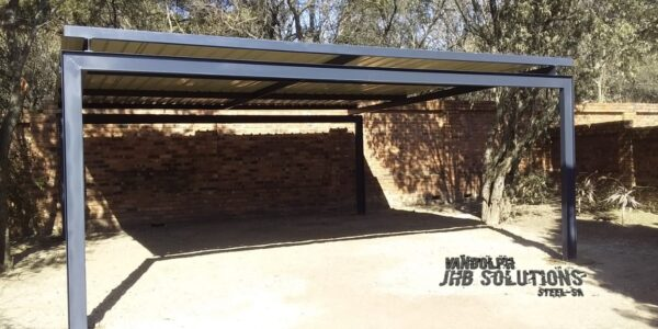 Carport I-Beam Flat Roof