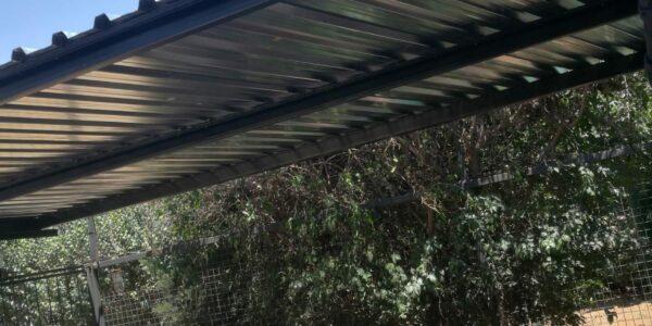 Carport Flat Roof, Open Design