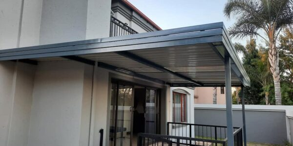 Carport Flat Roof  | 3 Side Panel Design